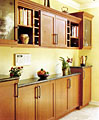 Besides kitchens, we create dens, bars, and bathroom cabinets. Give us a try!