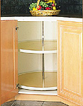 <p>This Lazy Susan is just one of many inserts that we can add to your kitchen.</p>