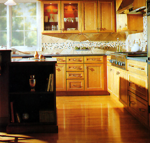 Larger Image - We refaced this kitchen in 2005  Our customers were so happy that they have referred us on multiple occasions to other people
