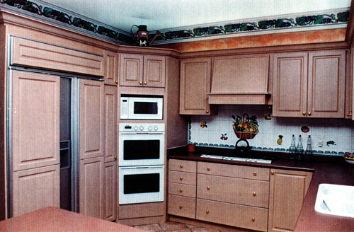 Larger Image - This kitchen was a complete reconstruction and completed at a price with which the customer was very happy.