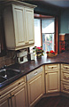 This is the 3rd kitchen that AWARD has refaced for this extended family.