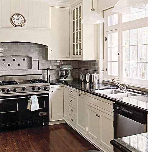 Larger Image - There is nothing more enduring and beautiful than an Award Kitchen Refacers white kitchen.